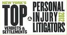 Top Personal Injury Litigators 2012 Award