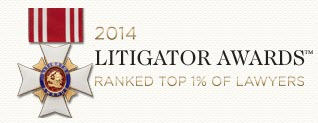 2014 Litigator Award