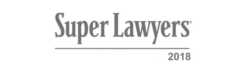 2018 Super Lawyers Award